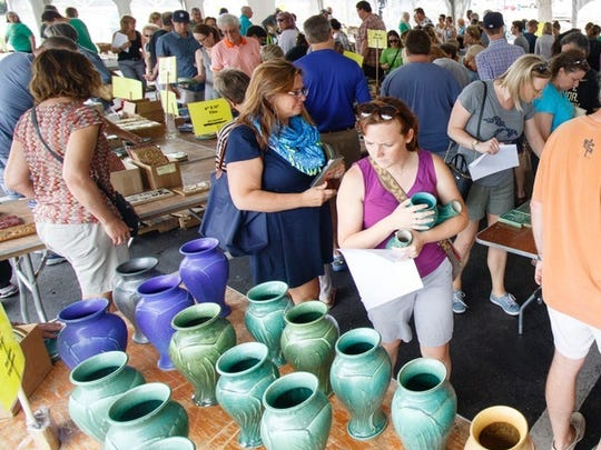 Pewabic opened its annual summer sale to the public for the first time in 2016.