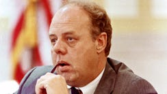 FILE – In this June 23, 1989, file photo, John M. Dowd,