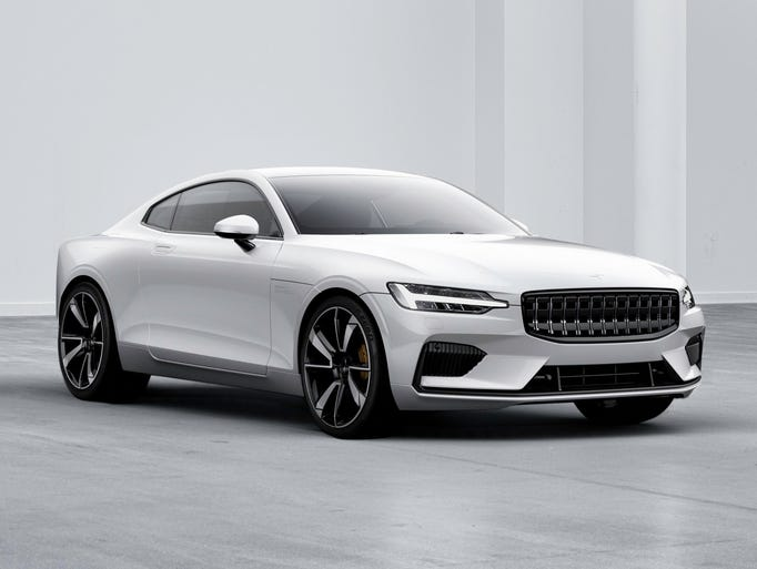 The Polestar 1 is a 600 hp two-door, four-seater hybrid