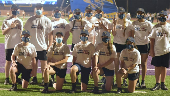 For Stephenville's football home opener against Sweetwater on Sept. 4, the SHS Band Section of the Week was Percussion.