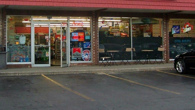 An outside view of North Greece Grocery in the Carriage Stop Plaza at 520 Long Pond Road, just north of Latta Road.