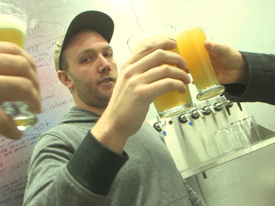 Jason Goldstein of Toms River, head brewer and owner