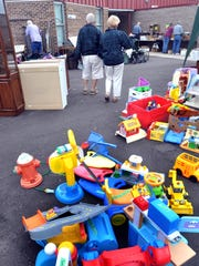 A few years ago Community Sharing took its garage sale