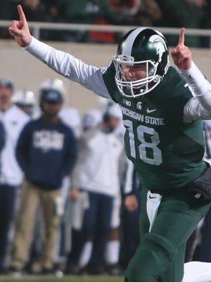 Michigan State QB Connor Cook.