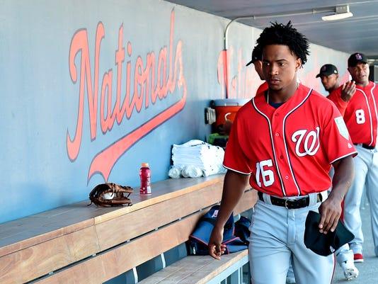 USP MLB: SPRING TRAINING-WASHINGTON NATIONALS AT H S BBA HOU WAS USA FL