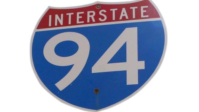 I-94 sign