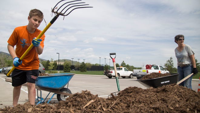 Residents can get free mulch from the city of Fort Collins Forestry Department on April 21 and April 28.