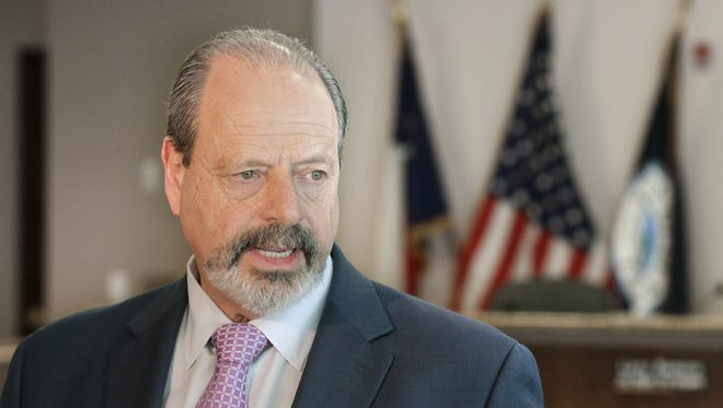 """Now we are moving forward,"" Mayor Oscar Leeser says of City Manager Tommy Gonzalez's performance improvement plan."