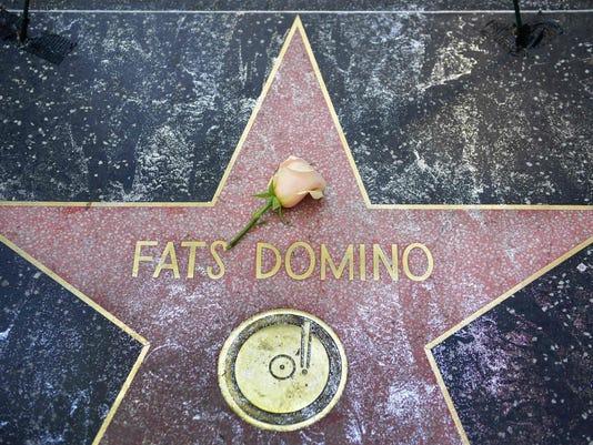 US-ENTERTAINMENT-MUSIC-DOMINO-music