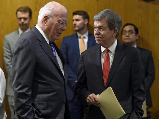 Roy Blunt, Patrick Leahy