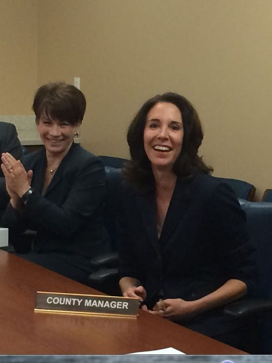 Joy Rich selected County Manager