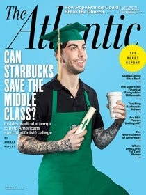 Cover of May issue of Atlantic magazine