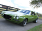 """The """"Grinch,"""" a 1970 Camaro built by Ringbrothers,"""