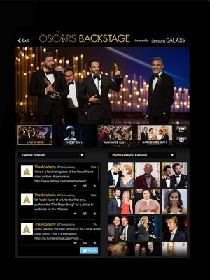 The Oscars will be live streaming for the first time ever through the WATCH ABC app online and on mobile devices.