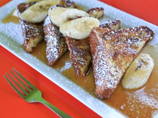 Noosh Kentucky French toast with Pappy Van Winkle maple
