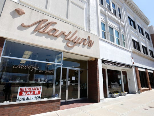 Marilyn's Fine Jewelry closes on April 16 more than