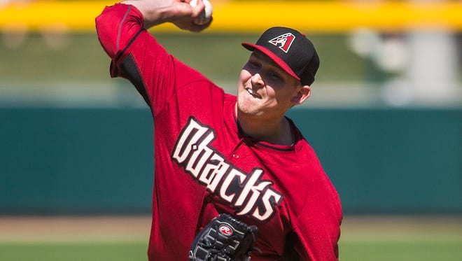With a week to go before Opening Day, Arizona Diamondbacks manager Chip Hale officially announced his starting rotation, with right-hander Trevor Cahill becoming the final addition.