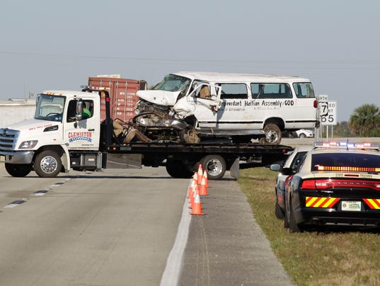 AP FLORIDA FATAL VAN CRASH A USA FL