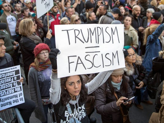 Thousands march in 4th day of anti-Trump protests