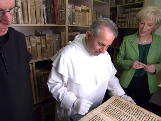 The Rev. Columba Stewart, Iraqi Dominican friar the