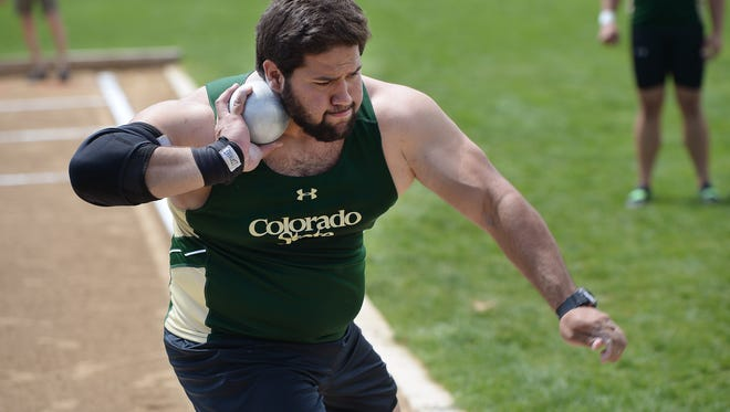 Mostafa Hassan, a CSU sophomore shown competing in a home meet May 6,, was unable to compete in the African championships Wednesday because of visa problems. Hassan, who is from Egypt, was hoping to secure a spot in the Rio Olympics by  winning the African championship.