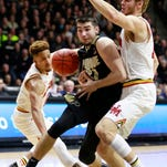 Boilers talk about holding on vs. Maryland