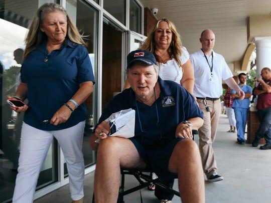 Dallas Nagy, Florida's first medical marijuana patient,