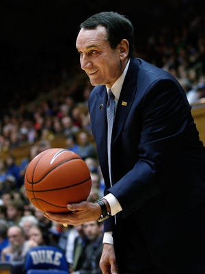 The USD men will be facing Coach Mike Krzyzewski and the Duke Blue Devils on Dec. 2.