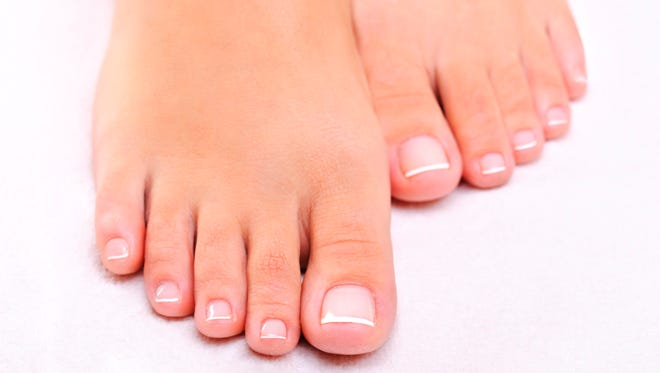 How did Native Americans trim their toenails?