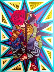 """Samurosa"" by Juan Ornelas."