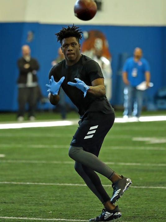 Richie James MTSU pro day