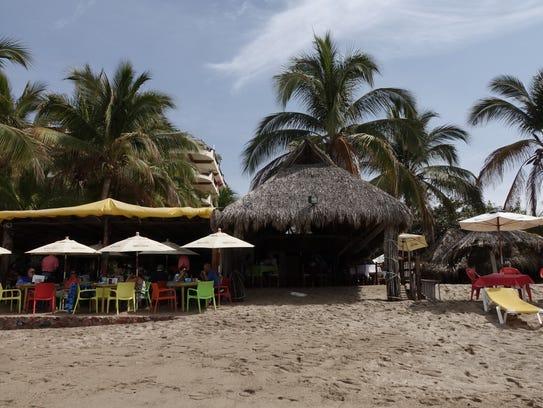 Have lunch on the beach in Puerto Vallarta