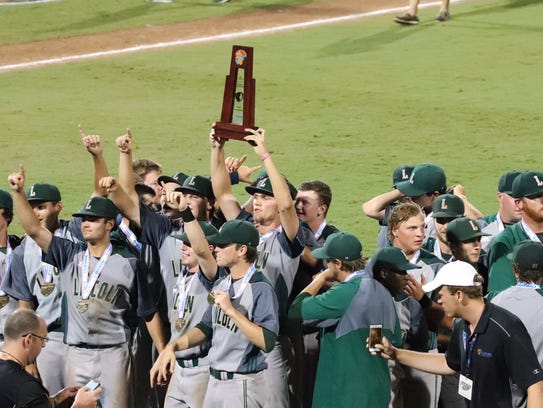 The Lincoln baseball team captured the 8A state title
