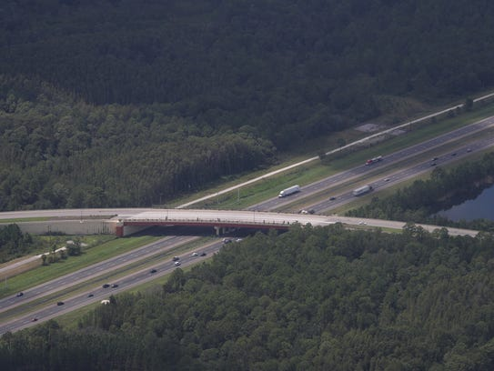 Traffic on I-75 near Tampa is still moving freely on