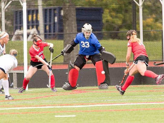 Whitney Point graduate Danelle Jones had a 1.15 goals-against
