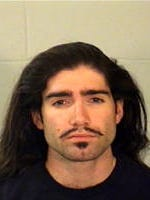 Brandon Smith booking mug from December 2010.
