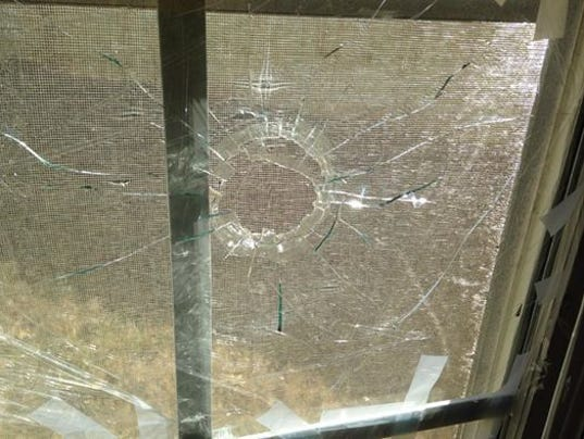 Dunwoody couple finds broken window bullet in bedroom for 10 x 40 window