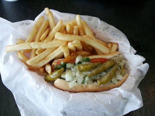 hot dog Chicago Hamburger Company