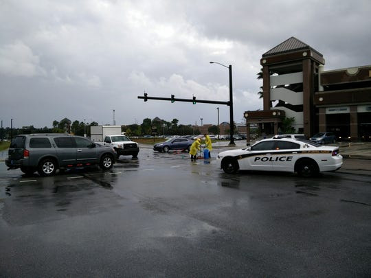 UCF Police were on the scene after an incident at Gemini