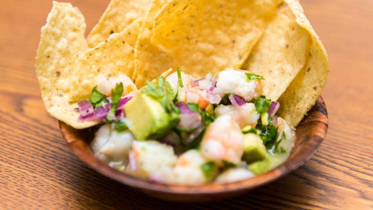 This shrimp ceviche is easy to prepare and is sure to impress everyone gathered around your table.