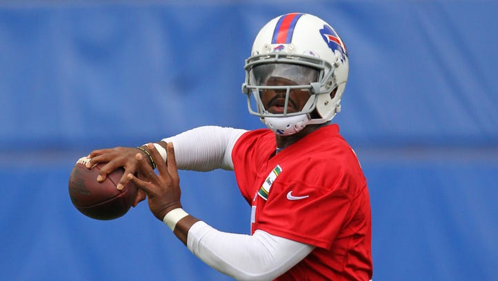 Tyrod Taylor has thrown only 35 passes in his NFL career,