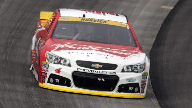 Kevin Harvick dominated the AAA 400 Sunday at Dover International Speedway.