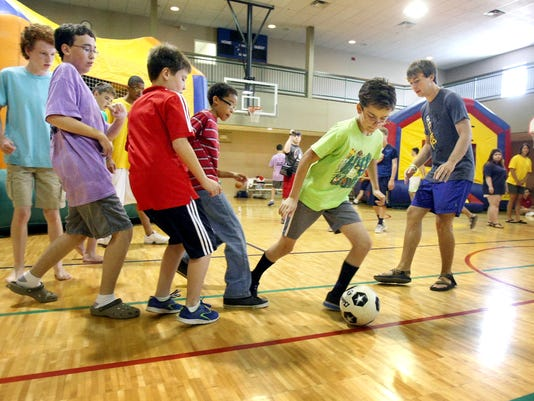 Camp for youths with developmental disabilities