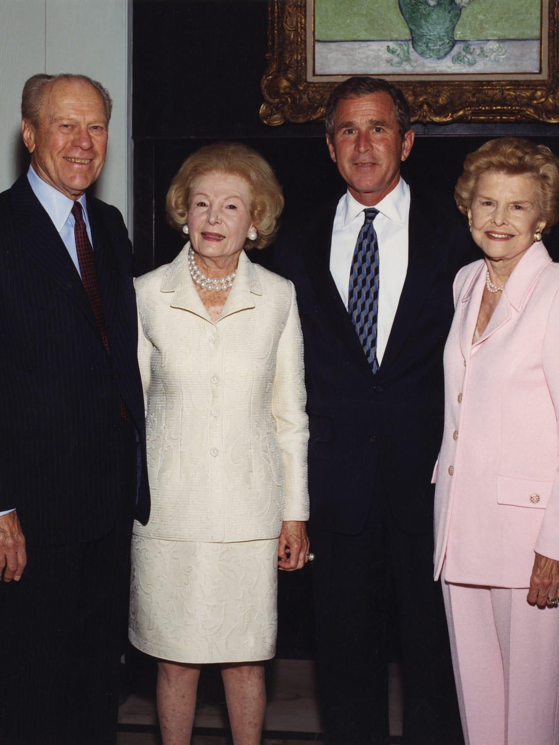 Former president Gerald Ford, Leonore Annenberg, President