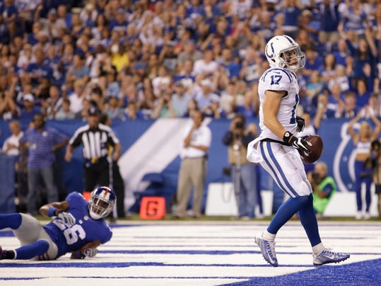 Giants Colts Football (2)