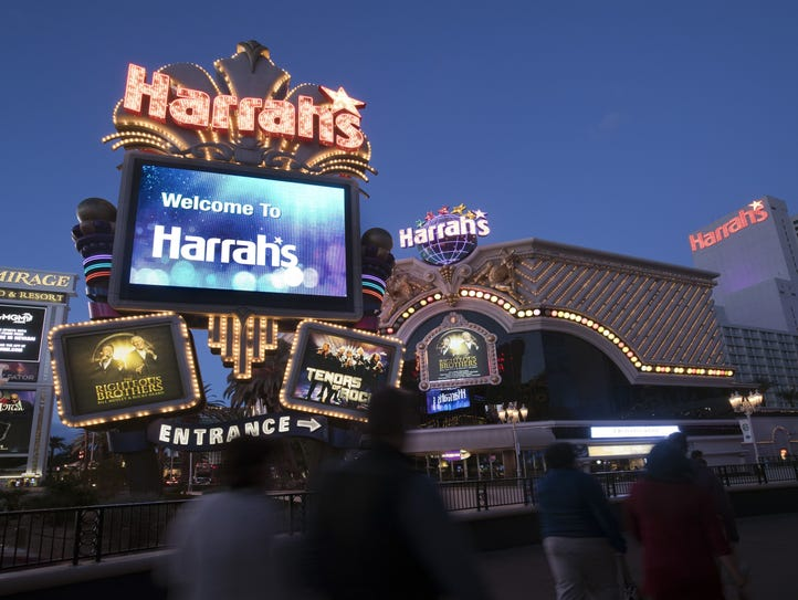 Harrah's Las Vegas Hotel and Casino features more than