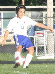 Austin Pena played well Monday night against Dearborn.