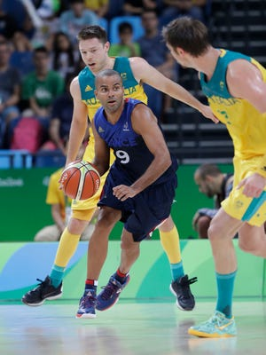 A medal is the goal for Tony Parker and France, but they started slow with a loss to Australia.