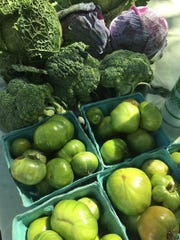 Fresh vegetables are among the selection for sale from 9 a.m. to 1 p.m. each Sunday at Jupiter Farmers Market, at El Sol, located at Military Trail and Indiantown Road in Jupiter.