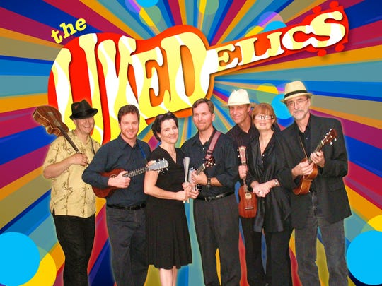 The Ukedelics will perform as part of the ukulele night this week.